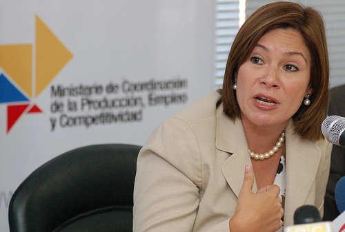 RUEDA DE PRENSA DE NATHALIE CELY MINISTRA COORDINADORA DE LA PRO