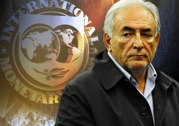 El director del FMI, preso.