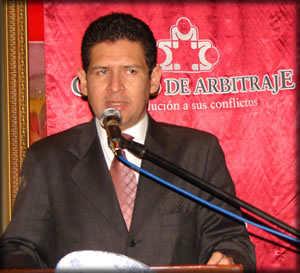 Diego García. Foto Procuraduría General del Estado