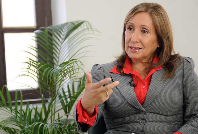 Doris Solis, ministra coordinadora. Foto Presidencia de la República