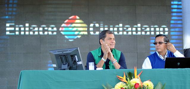 Enlace Ciudadano. Foto Preidencia de la Republica