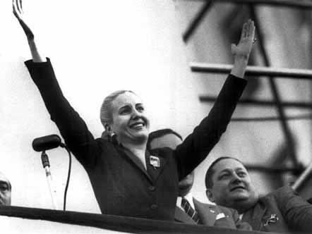 Eva Peron, esposa de Juan Domingo Perón. Foto de Archivo, La República.