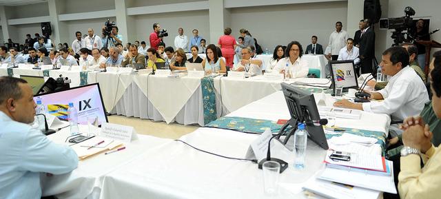IX Encuentro bilateral Foto Presidencia de la República