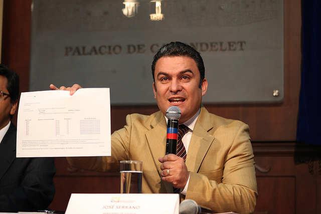 José Serrano. Foto Presidencia de la República