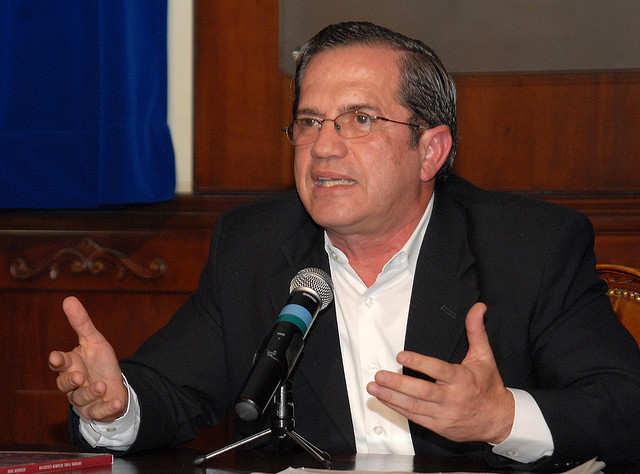 Ricardo Patiño. Presidencia de la República