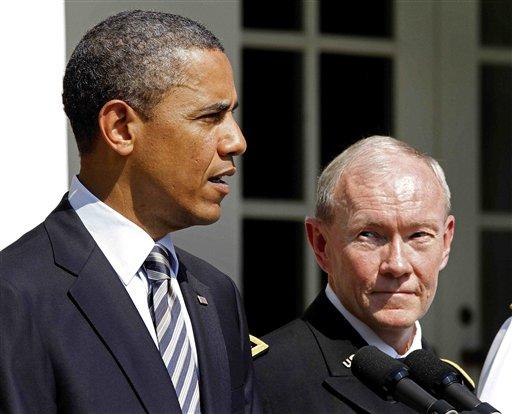 Barack Obama, Martin Dempsey