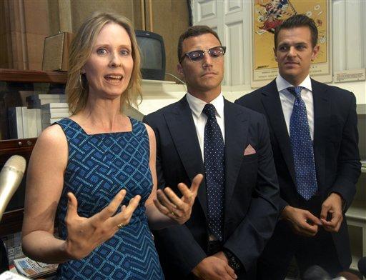 Sean Avery, Cynthia Nixon , Brian Ellner