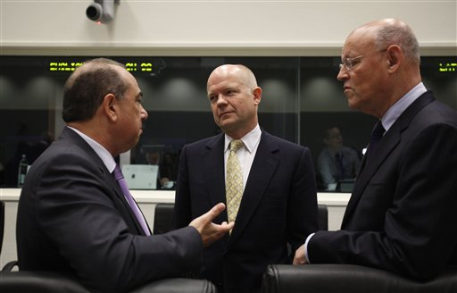 William Hague, Markos Kyprianou, Uri Rosenthal