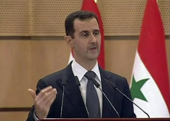 El presidente de Siria, Bashar Assad