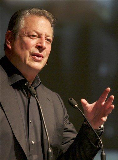 El ex vicepresidente y Premio Nobel de la paz Al Gore en una fotografía de archivo del 9 de enero de 2011 en Yakarta, Indonesia. (Foto AP/Achmad Ibrahim, Archivo)
