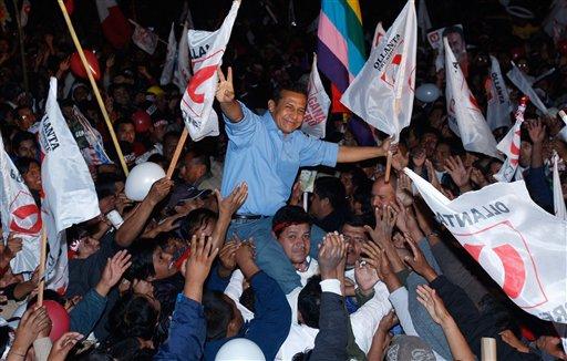 Llanta Humala, presidente del Perú. Foto de Archivo, La República.