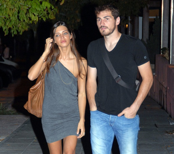 Real Madrid's Iker Casillas Spends Time With His Girlfriend
