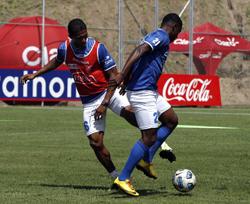 Antonio Valencia en el entrenamiento