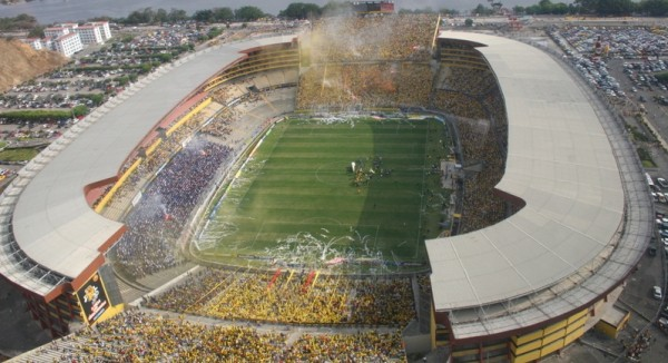 Foto de archivo. Estadio Monumental de Barcelona. Foto API.