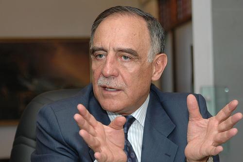 General Paco Moncayo, ex alcalde de Quito. Foto de Archivo, La República.