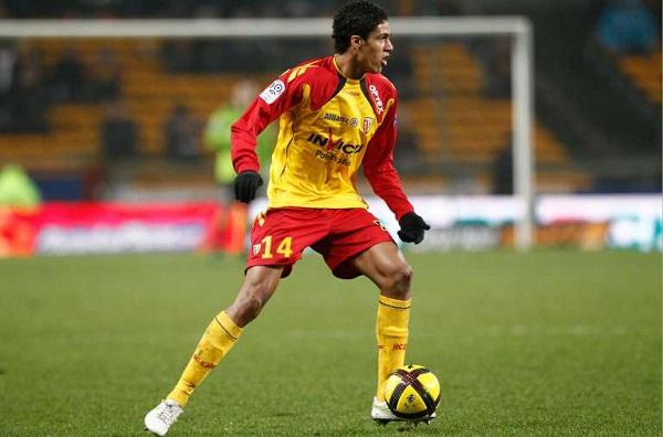Football : Lens / Sochaux – Ligue 1 – 19.02.2011 – Raphael Varane (Lens)