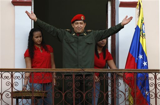 Hugo Chavez, Maria Gabriela Chavez, Rosa Virginia Chavez