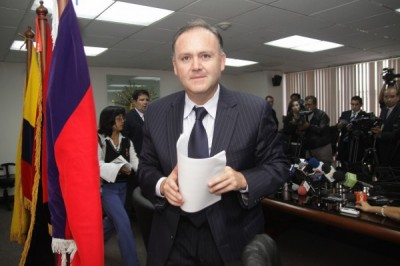 Diego Borja será el coordinador económico de la ALBA