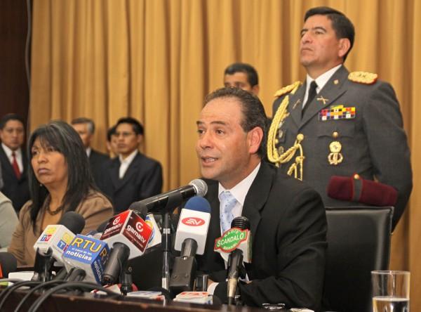 Omar Simon, cuando era presidente del Consejo Nacional Electoral, en 2011. API
