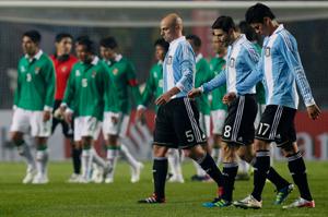 Argentina sufrió para empatar con Bolivia.
