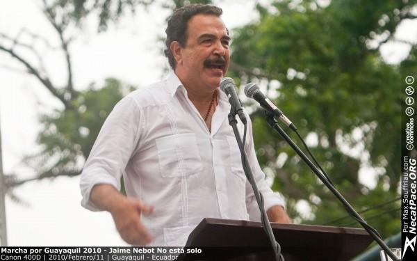 Marcha por Guayaquil 2010 – Jaime Nebot No est‡ solo