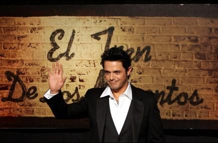 Alejandro Sanz, cantante. Foto de Archivo, La República.