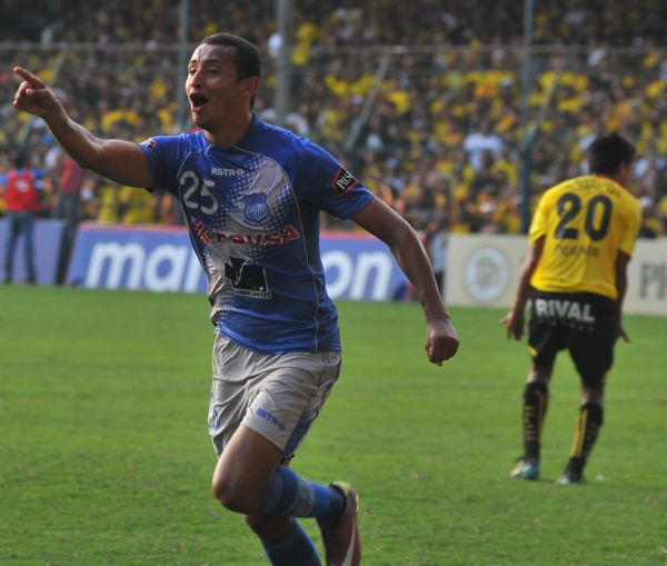 Eduardo Morante anotó el gol del empate tras un centro del uruguayo Brian Lugo.