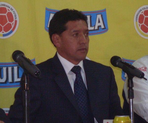 Foto de archivo. Sixto Vizuete, técnico de la selección Sub 20 de Ecuador. Foto API.