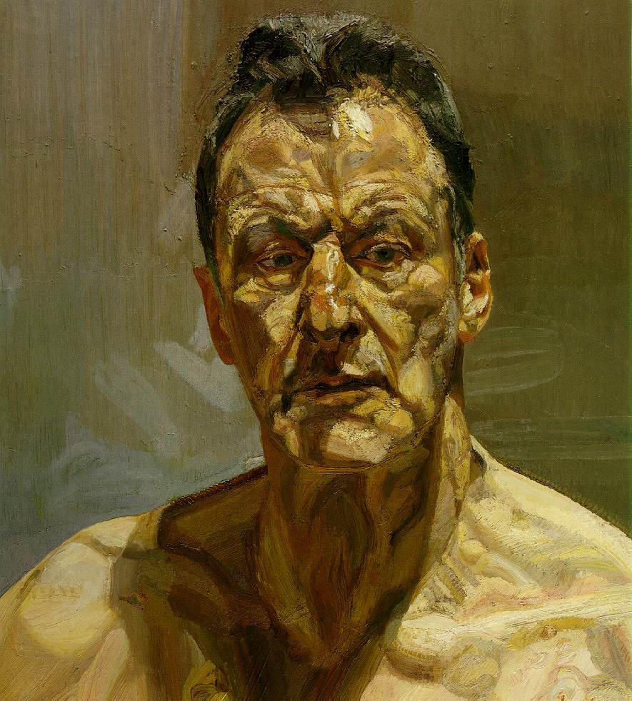 Lucien Freud Reflejo (autoretrato)