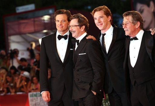 Gary Oldman, Benedict Cumberbatch, Colin Firth, John Hurt