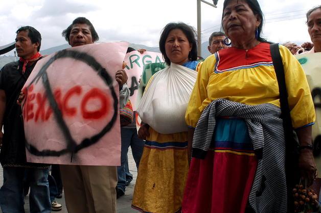 ECUADOR - PROTESTA CONTRA TEXACO