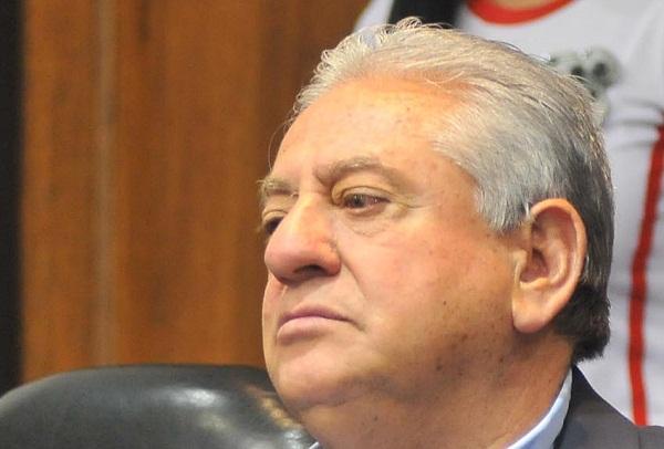Foto de archivo. Ing. Luis Chiriboga, presidente de la FEF. Foto API.
