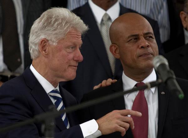 Bill Clinton, Michel Martelly