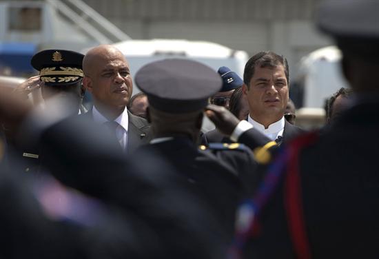 Los mandatarios de Haití y Ecuador