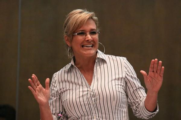 Cynthia Viteri, asambleísta del Partido Social Cristiano. Foto de Archivo.