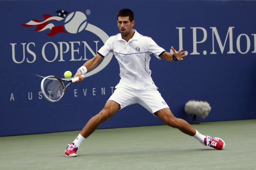 Djokovic steps