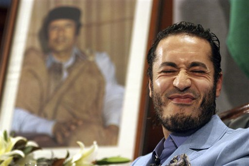 Saad Gadafi, hijo del ex dictador Moamar Gadafi. Foto de Archivo, La República.
