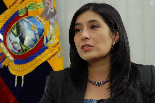 MINISTRA DE JUSTICIA, JOHANNA PESÁNTEZ