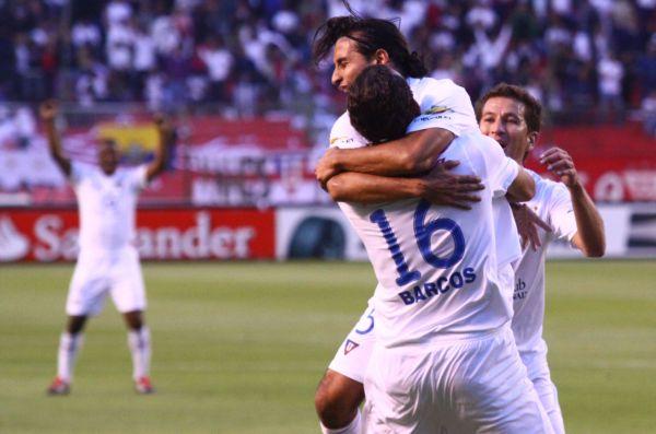 QUITO 27 DE SEPTIEMBRE 2011. Liga Vs Independiente. FOTOS API / JUAN CEVALLOS.