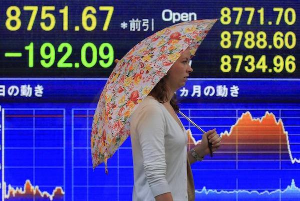 Japón. El índice Nikkei se ha derrumbado.