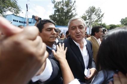 Otto Pérez Molina, Presidente de Guatemala. Foto de Archivo: La República.