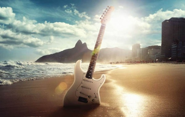 rock in rio guitarra