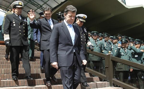 Juan Carlos Pinzon, Alvaro Echandia, Juan Manuel Santos, Edgar Cely