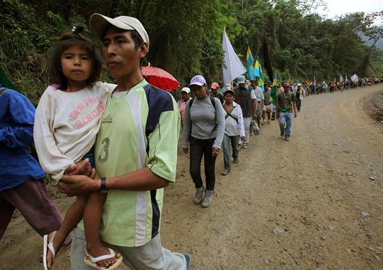 Bolivia indigenas