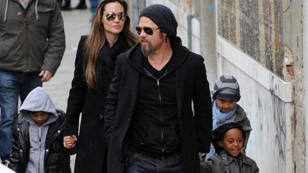 Brad Pitt Budapest