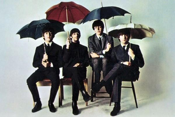 beatles-paraguas
