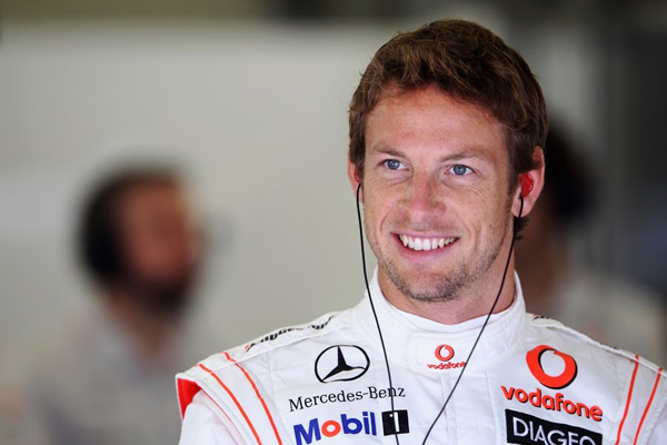 Foto de archivo. Jenson Button, piloto de Mc Laren. Foto EFE.