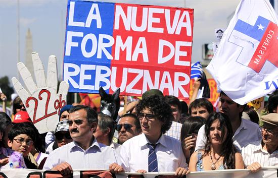 Marcha chilenos