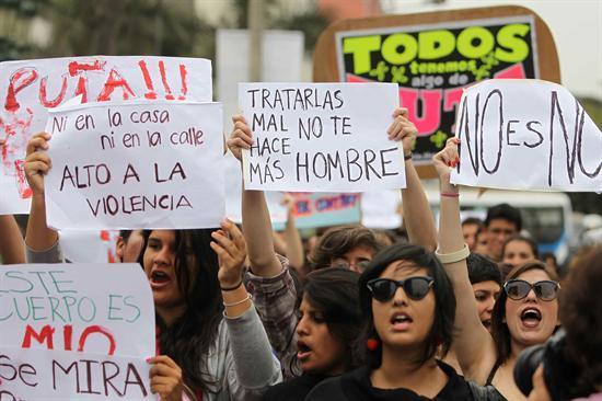 Marcha de las Putas, protesta contra la violencia hacia las mujeres.