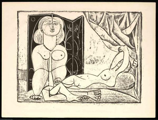 Picasso grabado